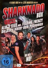 4 Películas Sharknado PARTE 1 2 3 BOX suficiente gesagt Secundario ONE oh HELL