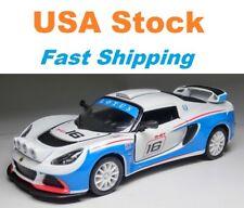 "2012 Lotus Exige R-GT, Kinsmart, Racing Car, Diecast Toy Car, 5"", 1:32 scale"