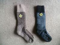 New Zealand Possum Fur Merino Wool Knitwear Socks