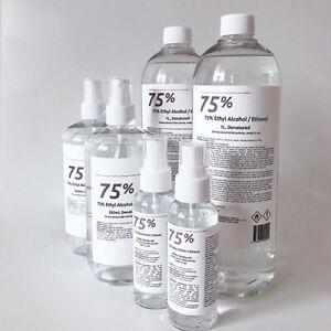 75% Ethyl Alcohol C / Ethanol Family Package,Australian made,AU stock,Antiseptic