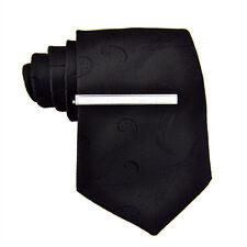 1pc Men Silver Metal Necktie Clasp Clamp Decor Alloy Tie Clip