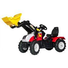 Rolly Toys Steyr CVT 6225 Traktor mit Frontlader und Luftbereifung Trettraktor