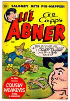 Al Capp's LI'L ABNER #88 in VF- condition a 1952 Golden Age Toby comic
