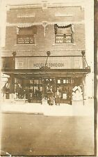 c1910 RPPC; Model Store Co. Shoe Display St. Paul MN, Doctor Office above
