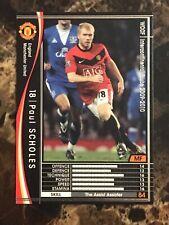 Paul Scholes 2009-10 Panini WCCF RARE Japanese football card Manchester United