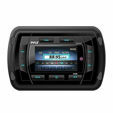 Pyle Marine Bluetooth Audio/Video Receiver, Water Resistant A/V Stereo Headunit