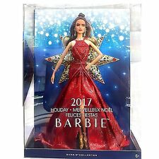 Happy Holiday Barbie 2017, Hispanic,  New by Mattel