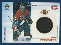 JEFF HACKETT 2000-01 PACIFIC PRIVATE STOCK 2001 NO 56 GAME JERSEY  16696