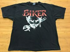 3XL - Vtg 1995 Easyriders Biker Skull  Tool Single Stitch 90s T-Shirt USA