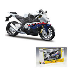 Mini Maisto 31191 1:12 Scale BMW S1000 RR Motorcycle Diecast Model Toy With Case