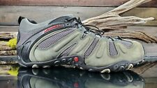 MERRELL Chameleon Prime Stretch Mens Sz 14 US Gray Hiking Trail Athletic Shoes