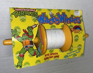 Teenage Mutant Ninja Turtles Kite String Spool Reel WackyWinders TMNT VTG 1989