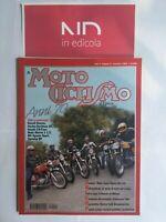 MOTOCICLISMO D'EPOCA NOVEMBRE 1999 - GUZZI ZIGOLO 98-110  DUCATI DESMO 350