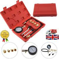 Diesel Petrol Engine Cylinder Pressure Tester Car Compression Gauge Test Kit UK