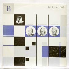 KARL RISTENPART - JC BACH sinfonia WF BACH lamento CFD 160 LP EX++