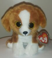 """Ty Beanie Baby Babies - SNICKY the Dog 6"""" NEW - MINT with MINT TAGS - Plush Toy"""