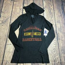 Majestic Threads Youth Girls Small Cleveland Cavaliers Pullover Shirt Hoodie New