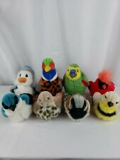 Lot of 8 Precious Moments Tender Tail and Stuffed Plush Birds K&M Int.