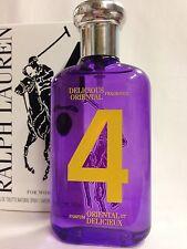 Ralph Lauren The Big Pony 4 Purple Women perfume 3.4 oz edt White~Tster~Box