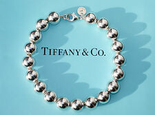 Tiffany & Co Sterling Silver 10mm Bead Bracelet