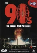 AFL DVD The Nineties The Decade That Delivered R4 Genuine Australian Format DVD