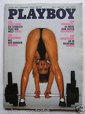 Playboy - D 3/1981, Corinna Beckh  Drews, Lisa Lyon, Kristina van Eyck. Hoeness