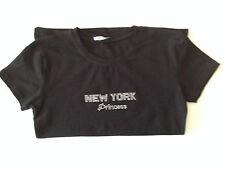 """Ladies New York Princess """"Bling""""  Tee Shirt - Large"""