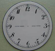 GENUINE VINTAGE ULYSSE NARDIN LOCLE SUISSE POCKET WATCH PORCELAIN DIAL 52.50 mm