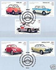 BRD 2002: Kultautos! Wohlfahrtmarken Nr. 2289-2293 mit Bonner Stempeln! 1A 1806
