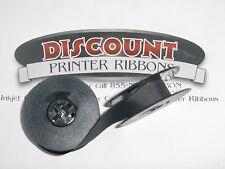 4 PK Royal Manual Portable Typewriter Ribbons Black Spool Free Shipping USA!