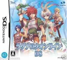 Used DS Ragnarok Online NINTENDO JAPANESE IMPORT