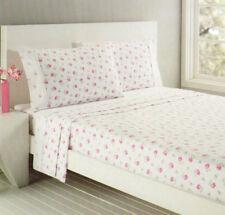 Floral Flannelette Bedding Sheets