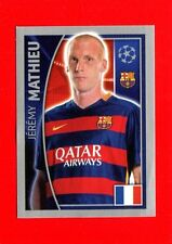 CHAMPIONS LEAGUE 2015-16 Topps-Figurine-stickers n. 309 - MATHIEU -BARCELONA-New