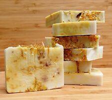 1-4kg luxury handmade soap. Calendula and bentonite clay. Natural, unscented.