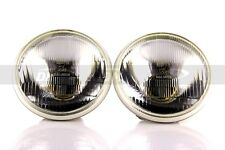 1pr DDM 5006 5-3/4 Inch Round Sealed Beam Chrome Conversion Headlight Lamps