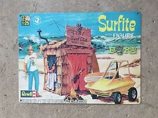 Revell Monogram Ed Roth Surfite Surf Surfer Model Kit Vintage Poster Metal Sign