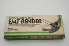 "Greenlee Tool Co. Site-Rite No. 840 1/2"" Emt Aluminum Conduit Pipe Bender Head"