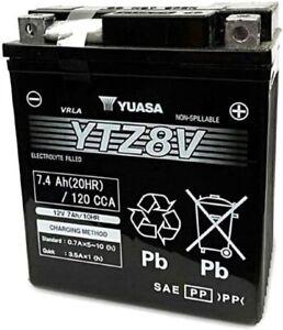 BATTERIA MOTO GS GTZ8V (YTZ8V) Originale Yamaha XMax 300 2017 2018 2019 HONDA