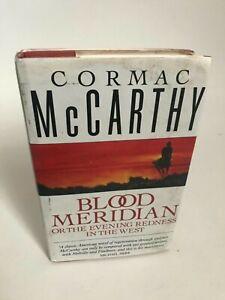 Blood Meridian 1st edition UK Cormac McCarthy