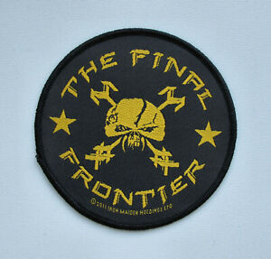 IRON MAIDEN - The Final Frontier - Official Woven Patch