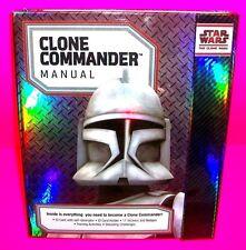 CLONE COMMANDER MANUAL Star Wars The CLONE WARS Still has Clone Photo ID Card!