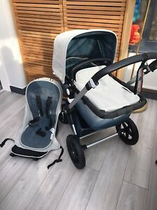 Bugaboo Cameleon 3 Limited Edition Elements Travel System Grey / Blue