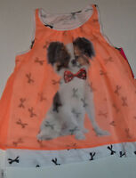 GIRLS Xhileration Pop Over Top SIZE M 7/8  NWT NEW Dog