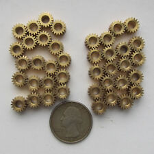 40PCS Brass Gear for Steampunk, Altered Art (u346)