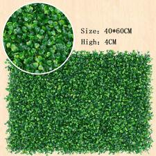 Artificial Grass 40x60cm Fake Lawn Flooring Home Garden Backdrop Deco Plant Lawn