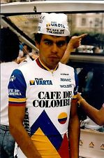 Cyclisme, ciclismo, wielrennen, radsport,  PERSFOTO'S CAFE DE COLOMBIA 1986