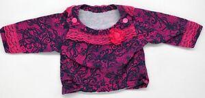 Tolles Baby Dawanda Handmade Langarm Shirt Größe 50 56 newborn
