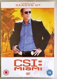 CSI: Miami - Complete Season 7 (DVD, 2010) BRAND NEW / SEALED (UK Region 2 PAL)