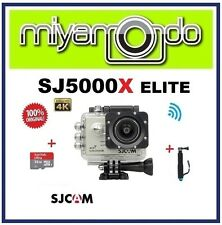 SJCAM SJ5000X WiFi Action Camera (Silver) + Monopod + Sandisk Ultra microSD 32GB