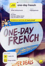 One-day French by Elisabeth Smith (CD-Audio, 2004)